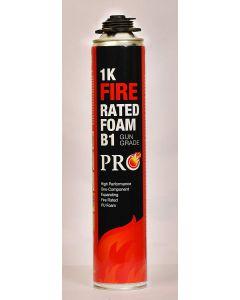 1K Fire Rated Foam B1 Gun Grade PRO