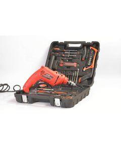 ICFS ISB10VRK Professional Powerful Impact Drill Tool Kit 10 mm, 550w, 3000rpm